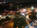 渋滞中の夜景
