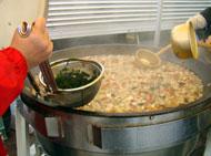 ふるまい鍋