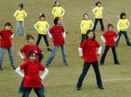 イマジネーションダンスワークによるハーフタイムショー