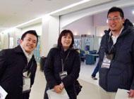 椋木さん、前田さん、山根さん