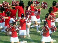 宮崎西校のダンス
