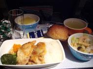 機内食:夕食