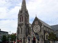 クライストチャーチのシンボル大聖堂
