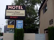 センターポイント・オン・コロンボ モーテル