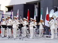 福岡市消防局のマーチングバンド
