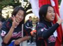 福岡レディースでーす