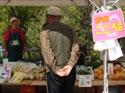 地元の農産物販売