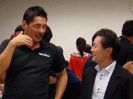 平尾GMと吉丸さん