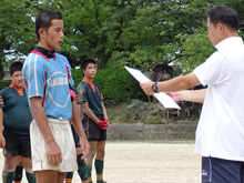 長丘中学校表彰