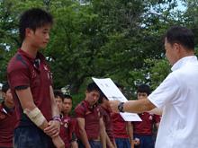 城南中学校表彰