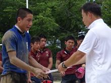 次郎丸中学校表彰