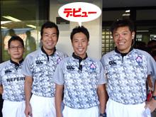 左から野口さん、前田さん、町田さん、ジミーちゃん