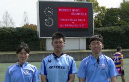 タウンズビル市高校選抜vs福岡県高校選抜