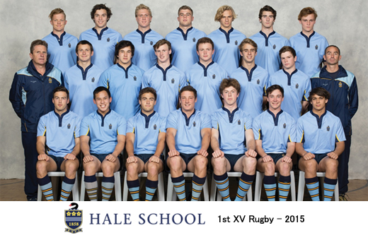 Hall School 1st XV Rugby - 2015